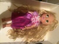 Rapunzel Disney Store toddler doll