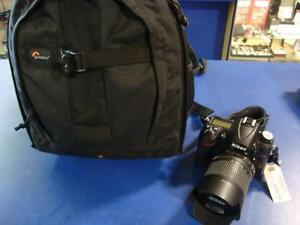 Caméra numérique et objectif NIKON