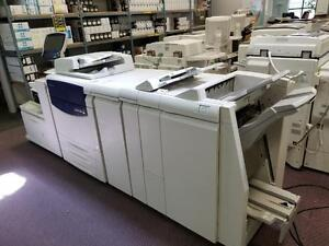 Xerox 700 700i Digital Colour Press Production Print Shop Printer Booklet Maker Fiery Finisher Feeder