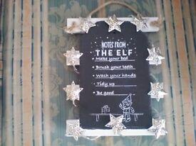 Christmas hand made plaques, nice gifts
