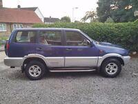 Nissan Terrano 2.7 Diesel 1998 YEARS MOT