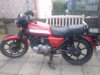 1996 Kawasaki GT550, N reg, 45000 miles, Powder Coated Frame.