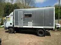 DAF 45 unfinished project motorhome, race truck