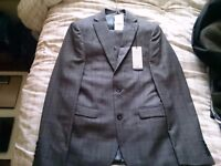 Brand New Next Slimfit Grey Suit