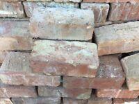 3 inch reclaimed bricks