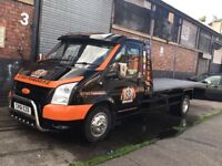 Car and Van Breakdown Recovery Transport & Accident Services - 24/7