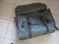 John Wilson Wychwood bait / tackle / net bag