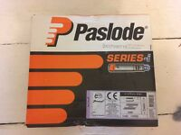 Paslode Nails 3.1x75mm Galv Ring Nails. 1073 nails & new gas cartridge. IM360Ci