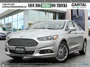 2016 Ford Fusion SE AWD*Nav-Rear Cam-Leather*