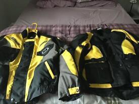 Motorbike textile jackets