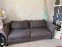 4 seater Habitat sofa bed
