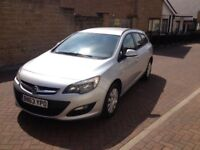 2013 63 Vauxhall Astra cdti eco £20 tax HPI clear 1 owner full history start stop bargain £2695