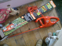 AS NEW BOXED FLYMO HEDGE TRIMMER