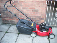Sovereign petrol rotary mower, push type
