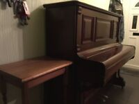 Beautiful Thurmer upright piano in very good condition, regularly tuned and played. Buyer to collect