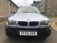 LOW MILES 2005 BMW X3 2.0 *DIESEL* FULL MOT, FULL LEATHER, SERVICE HISTORY