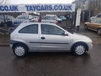 CHEAP CAR..........VAUXHALL CORSA 1.2 LONG MOT £695