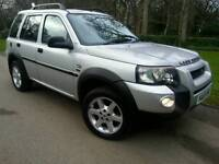 LAND ROVER FREELANDER 2.0TD4 HSE*2005 55*LEATHERS*H/SEATS*S/ROOF*NAVI*MINT CONDN*#SUV#JEEP#X-TRAIL