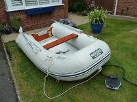 Nearly New Wetline 265 Inflatable Boat