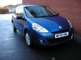 Renault Clio 1.2 extreme 2009 59 plate only 32975 miles 1 owner.