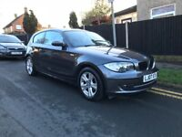 BMW 118D 2007 FACELIFT-IMMACULATE CONDITION-2 KEYS-FIRST SEE WILL BUY VERY LOW MILLAGE 72K FROM NEW