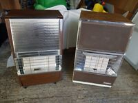 Two calor gas heaters, good condition with partially filled cylinders > £60 each or £100 for both..