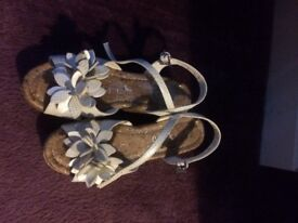 Size 2 Girls Sandals