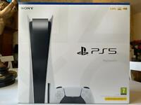 Sony PlayStation 5 PS5 Disc New Sealed In Hand