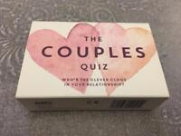 Couples quiz card game