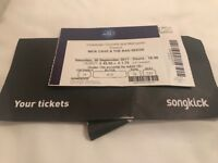 Nick Cave Seated Ticket O2 arena Sep 30 2017 (£30) will be in London at day of event for collection