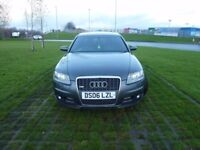 Audi A6 2006 Saloon 2.7 TDI S Line Quattro 4dr AUTOMATIC GEAR BOX GOOD HISTORY JUST SERVICED
