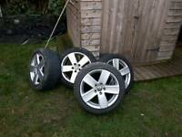 "Genuine 17"" vw Passat 225/45/R17"