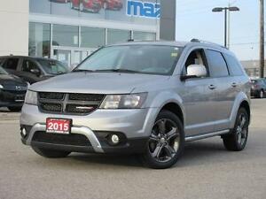 2015 Dodge Journey LEATHER, SUNROOF, HEATED SEATS