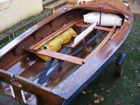 Enterprise sailing dinghy - good condition. Reduced for quick sale