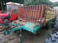 Styer hamster plus 30 forage wagon tractor