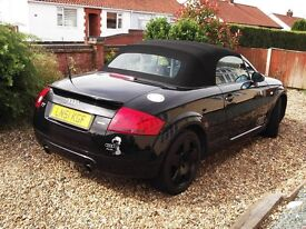 Audi tt 225 Bhp 1800 6 speed, 2001 No Expense spared. Mot May 2017 New tyres brakes all round etc