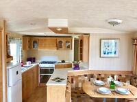 3 Bedroom Static Cravan for sale at Coopers Beach Mersea Island Essex. 12 month season, Beach access