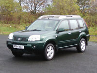 NISSAN X-TRAIL SPORT 4WD (FULL SERVICE HISTORY) 12 MONTHS M.O.T 6 MONTHS WARRANTY