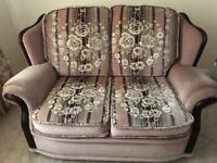Two sofas (only sold as a pair)