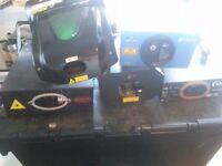 DJ/ Band Laser Lights....... Five for sale...... Bargain