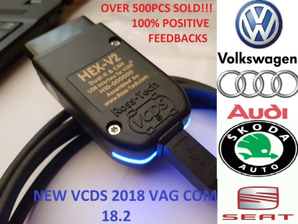Full Vag com 2018-VCDS 17 8 1 HEX-V2 Vw,Audi,Skoda,Seat-Car  Diagnostic-LATEST version | in Newcastle, Tyne and Wear | Gumtree