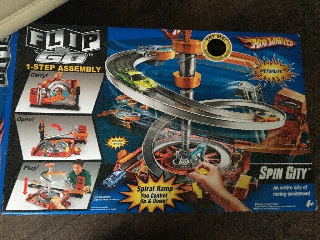 Spin city hot wheels