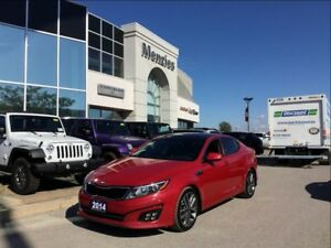 2014 Kia Optima SX Turbo, Navi, Sunroof, ONE OWNER, Clean Carpro