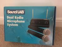 Sound Lab - Dual Radio Microphone System (Never Used)
