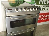 Zanussi Stainless Steel Cooker 60cm 1 Year Warranty, Delivery and Install Available