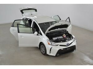 2017 Toyota Prius v Hybride Gr.Luxe GPS*Cuir*Bluetooth*Camera Re