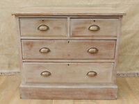 White stained Vintage chest (Delivery)