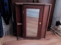 Pine bathroom cabinet
