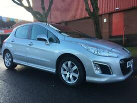 2013 Peugeot 308 1.6 HDI, just 28k, £30 road tax