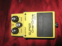 Boss SD1 guitar over drive effect pedal (no box or power lead included)